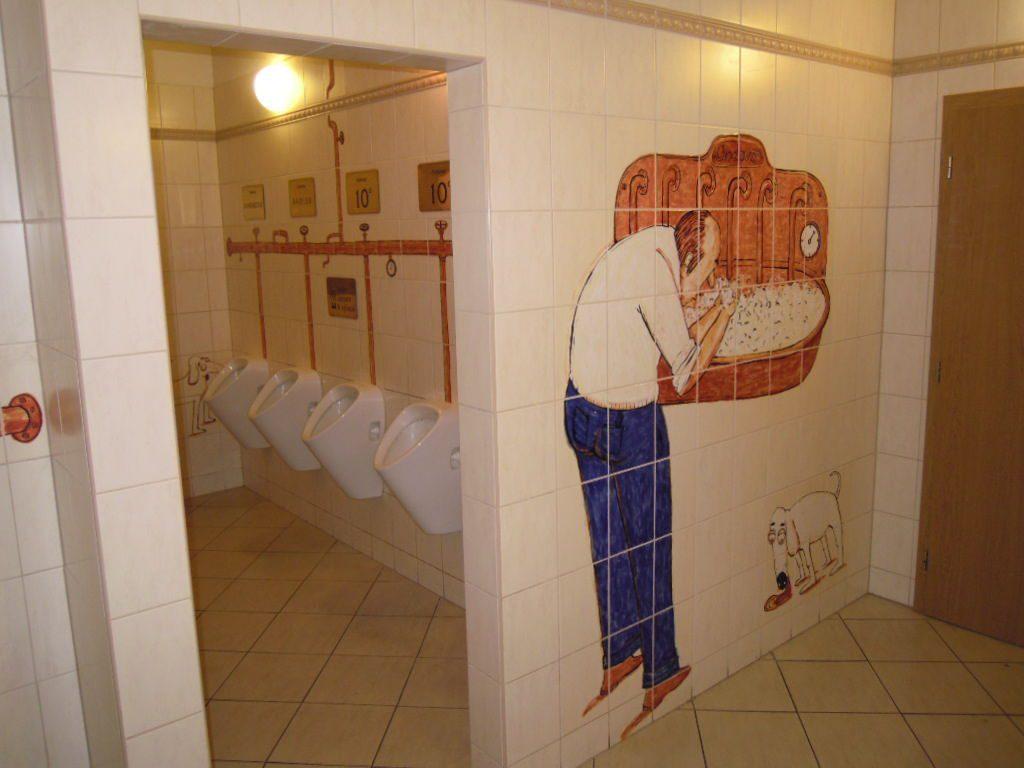 záchody Pivní lázně Chodová Planá