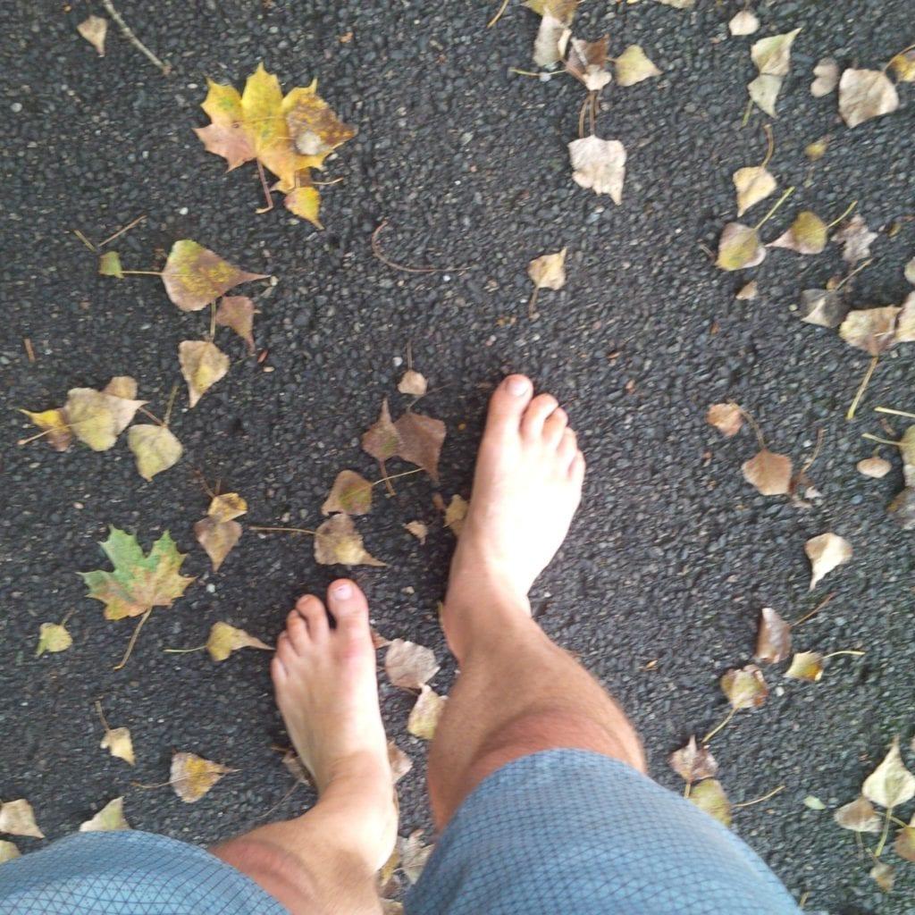 asfalt bosé běhání